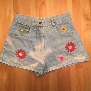 VTG Ivy Crew denim shorts